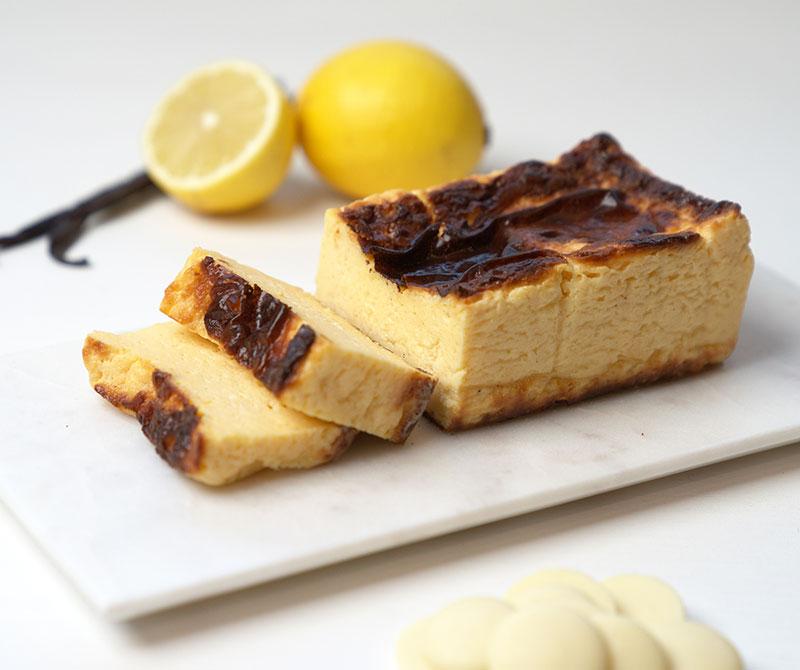 低糖質なバスクチーズケーキ 糖質9.3g